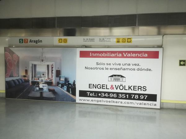 Publicidad exterior MetroValencia