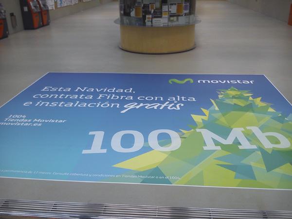 Publicidad en estaciones de metro y tranvía