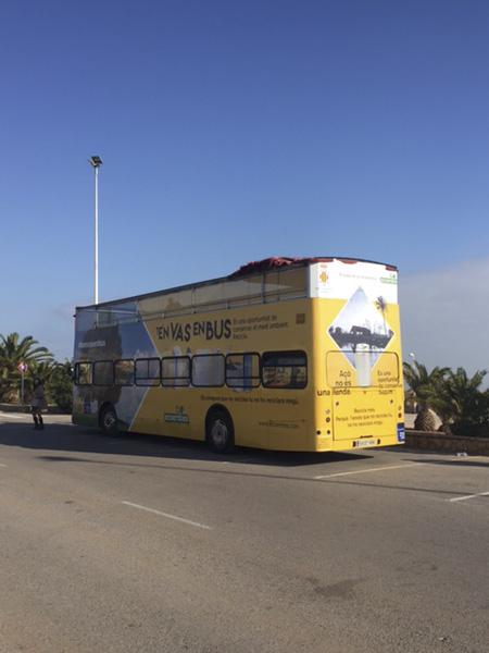 Publicidad bus turístic