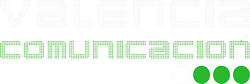 Logo Valencia Comunicación