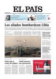 Publicidad en periódico El País
