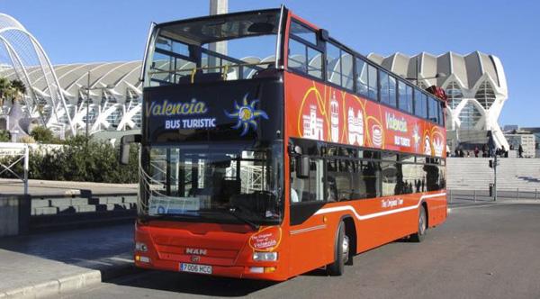 Publicidad Valencia bus turístic