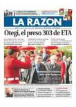 Publicidad en el periódico La Razón