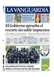 Publicidad en La Vanguardia