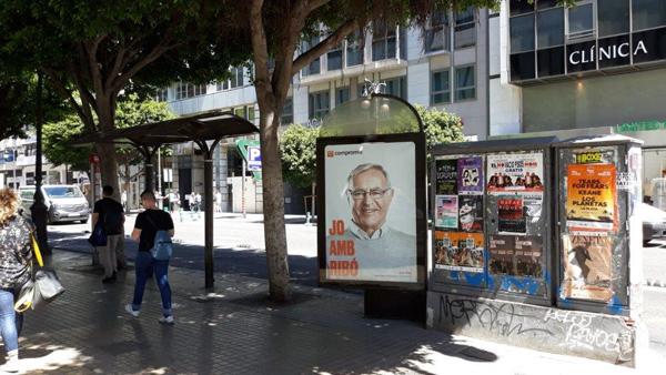 Publicidad en Mupis Centro de Valencia