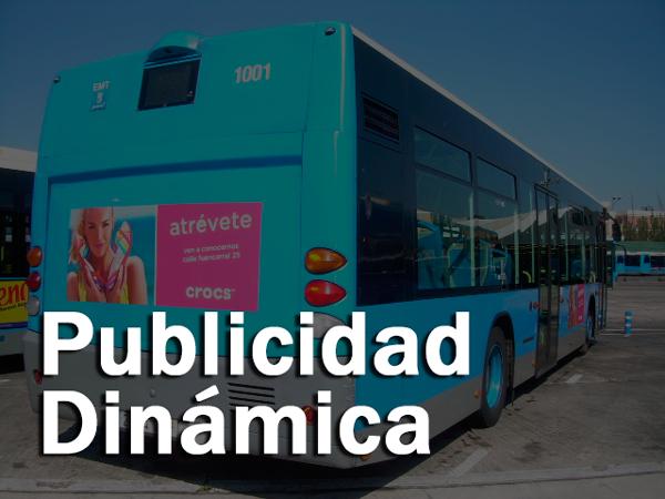 Cartel Publicidad dinámica en Valencia