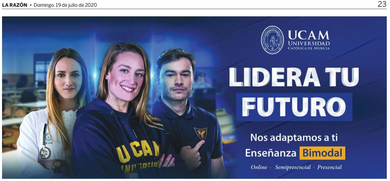 UCAM publicidad prensa