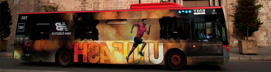 Publicidad exterior en autobuses Valencia