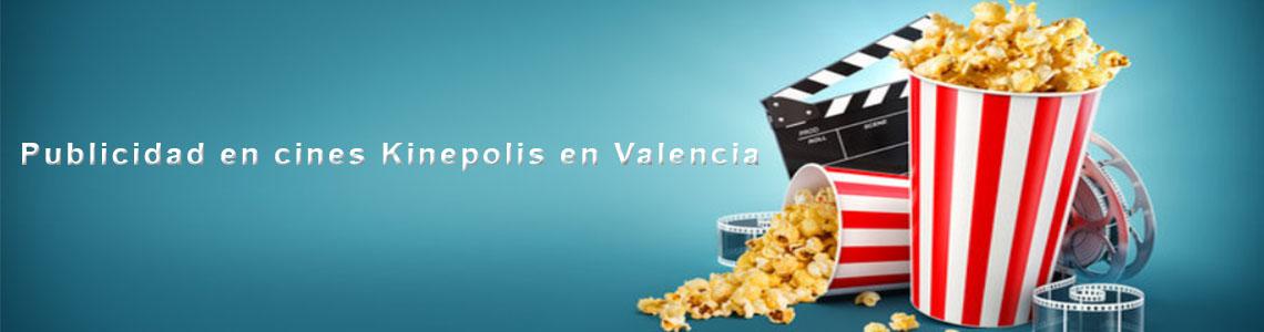 Publicidad en cines Kinepolis en Valencia