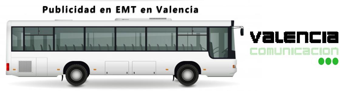 Publicidad en EMT en Valencia