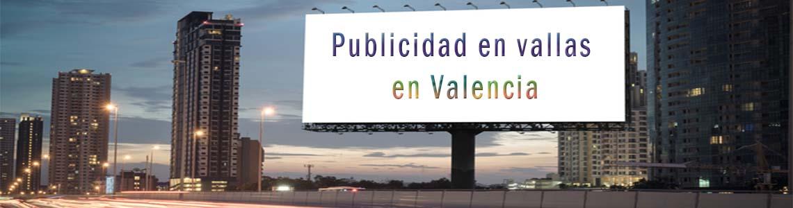 Publicidad en vallas en Valencia