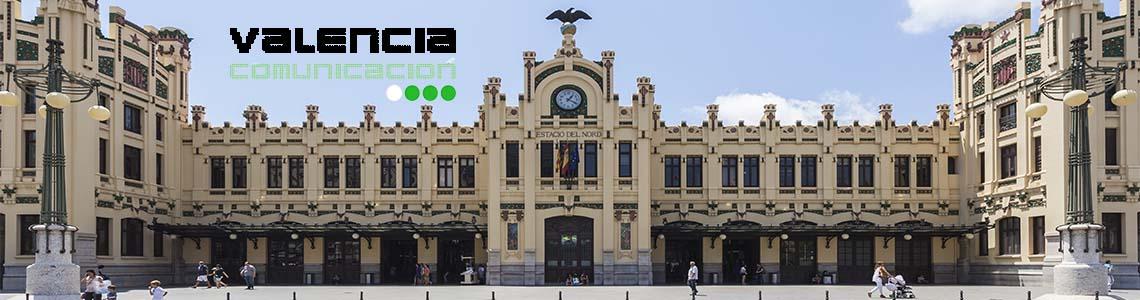 Publicidad estación del Norte en Valencia